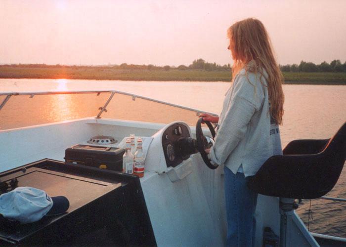 2001, living the boat life,Ireland