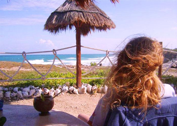 2008, margarita time, Isla Mujeres