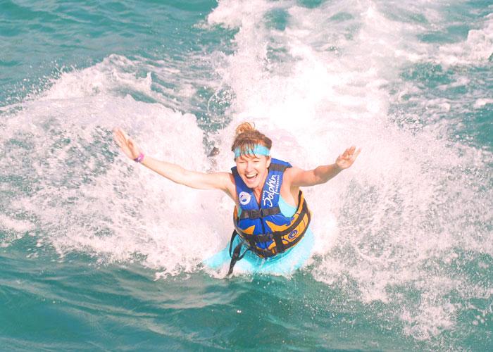2011, Dolphin ride, Isla Mujeres