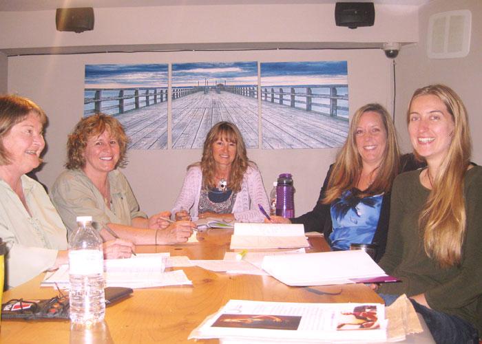 2014, Hosting a workshop, Victoria, BC
