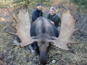 Moose hunt in British Columbia