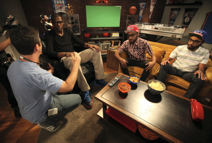 "Kevin Durant  - Behind the scenes of ""Talkin' 2K"" with The Lucas Bros"