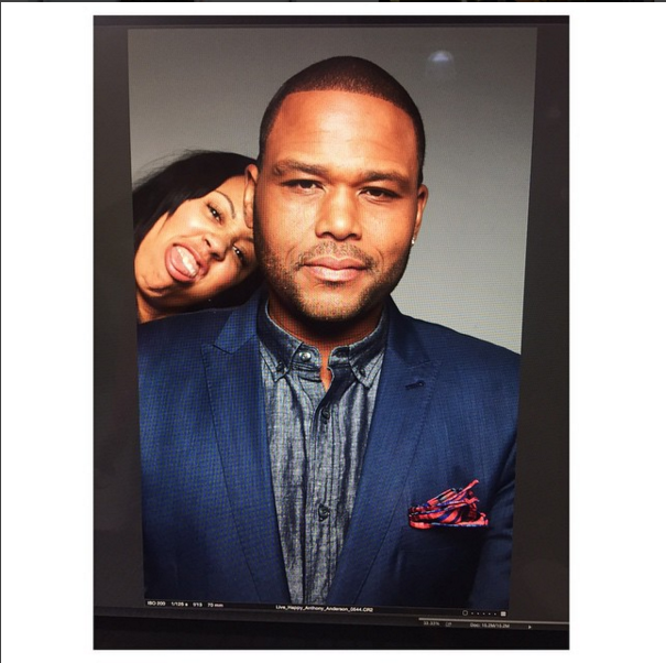 "Anthony Anderson  - Behind the scenes of ""Blackish"""