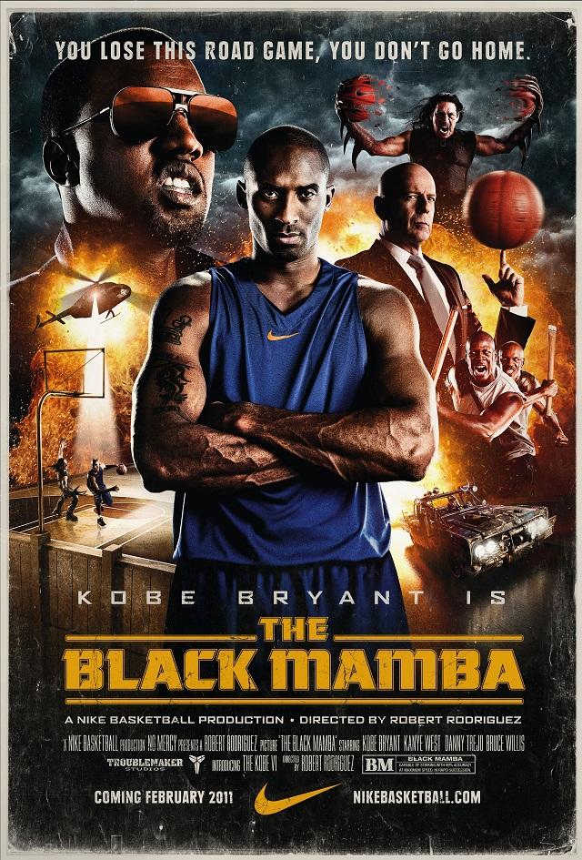"Kobe Bryant - ""The Black Mamba"" Nike ad campaign"