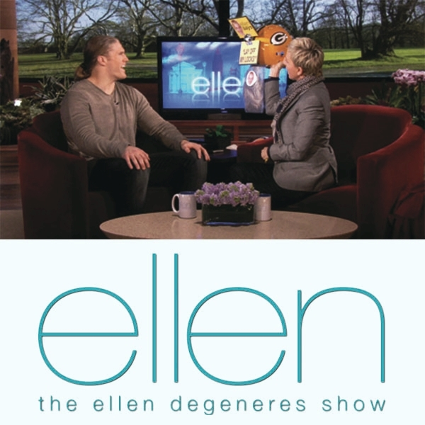 Clay Matthews  -  The Ellen Degeneres Show
