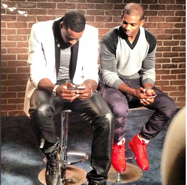 Behind the Scenes of Mean Tweets with  DeAndre Jodran  and Chris Paul