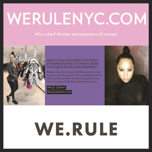 Paige Geran - WE.RULE Blog