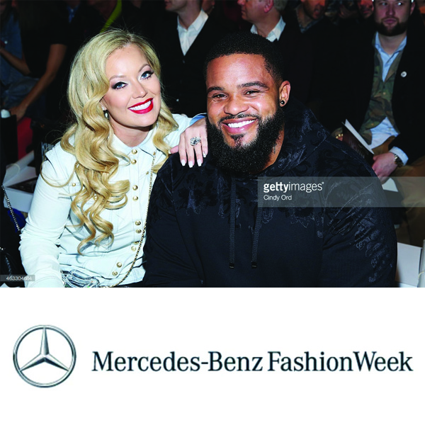 Prince Fielder  &  Chanel Fielder -  New York Fashion Week