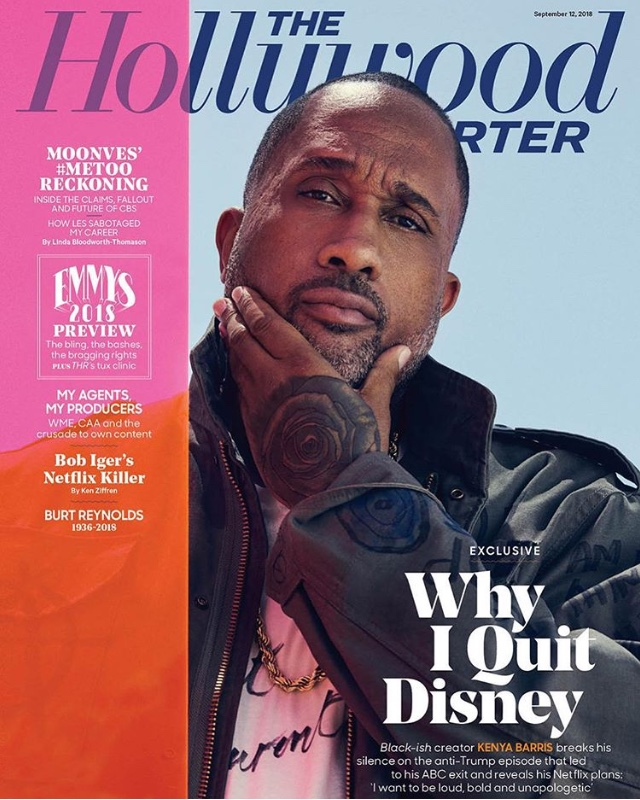 Kenya Barris - Hollywood Reporter