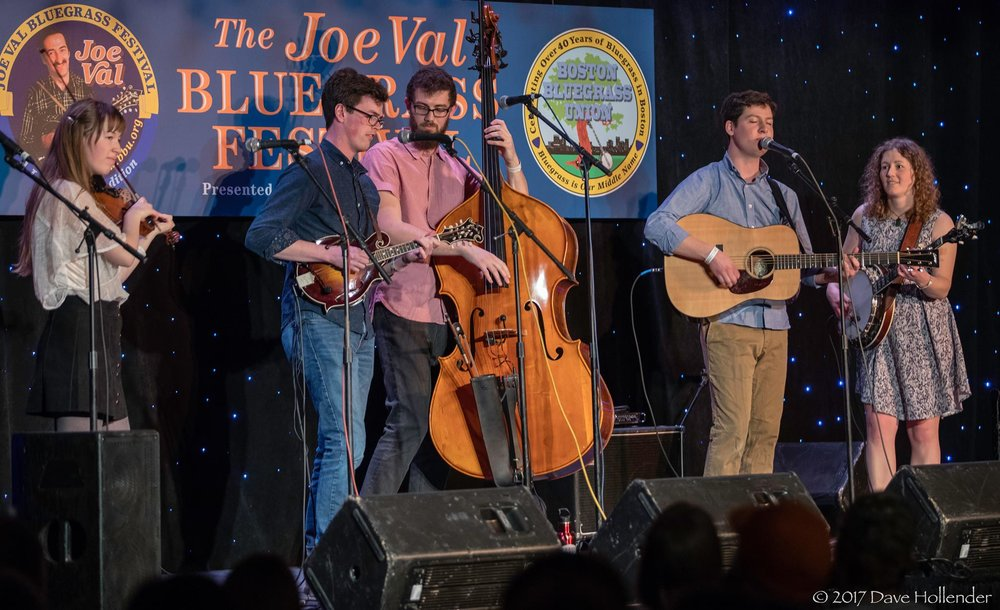 Mile Twelve at the 2017 Joe Val Bluegrass Festival