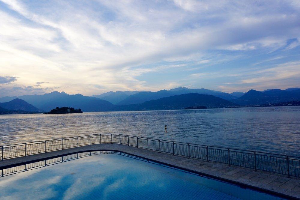 lake maggiore, stresa , italy