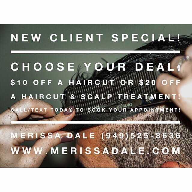 •new client special• offer expires 10/31/17 #menshair #menshaircut #mensgrooming #menshairstyle #clippercutting #phenixsalonsuites #costamesa #orangecounty