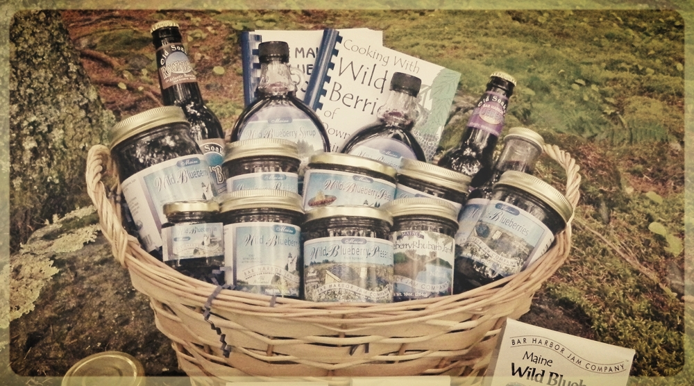 GIFT BASKET FROM HAZEL BLUE ACRES -