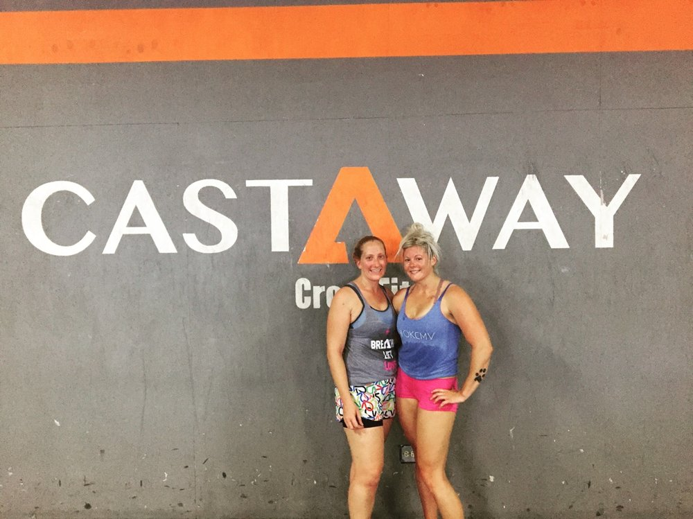 Nellie and I at  CrossFit Castaway