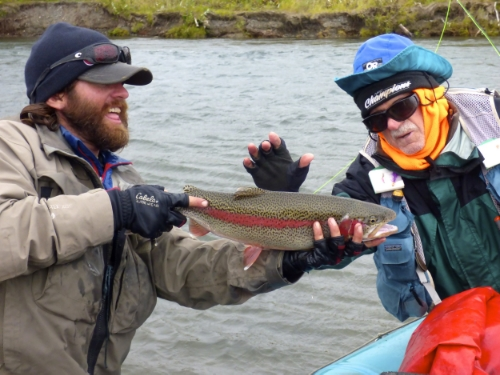Alaska Fly Fishing for Salmon