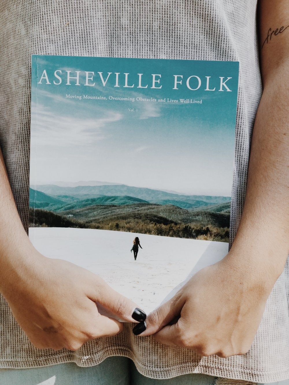 Asheville Folk Volume 1: Order Now. Christinaforet.com ashevillefolk.com