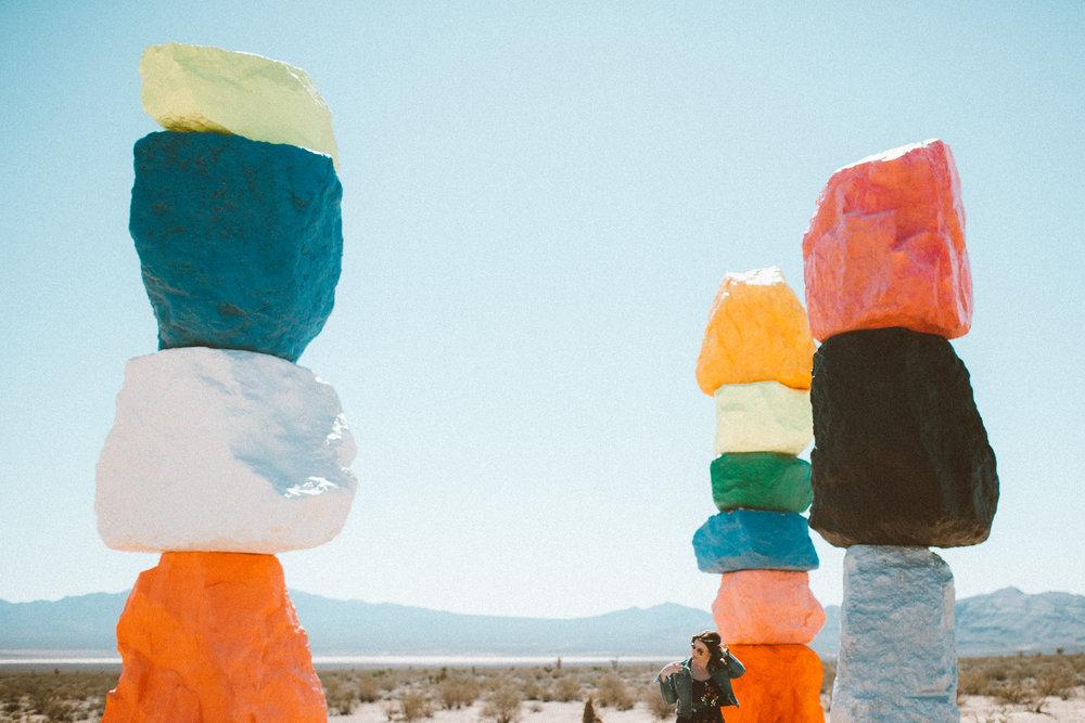Christina Foret - Lifestyle Blogger - Seven Magic Mountains Las Vegas Nevada-13.jpg
