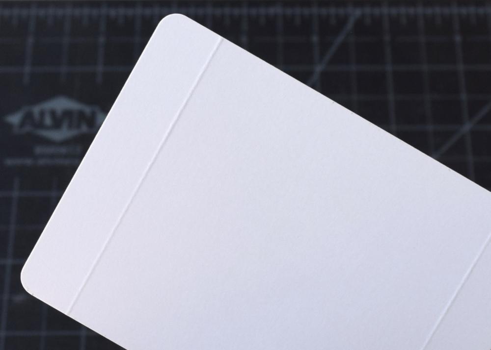 scored fold line (back)