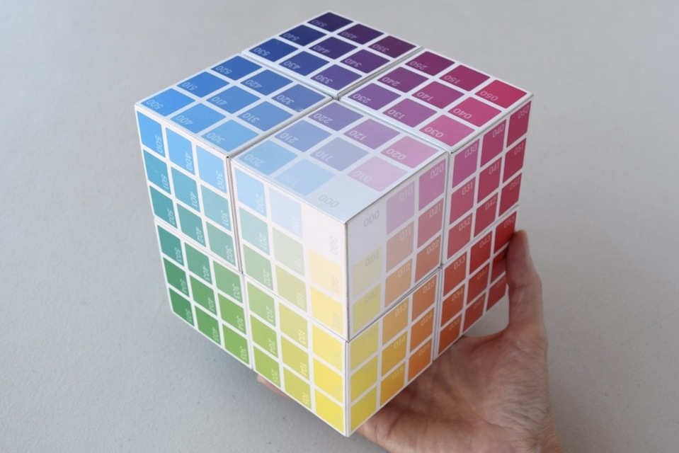 BTC  Colour Cube  | build your own 8-part Colour Cube