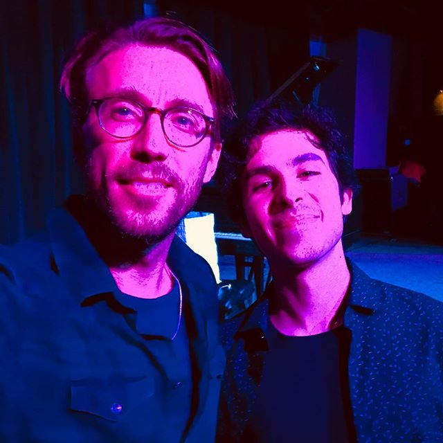 Last night I went to see my friend @billlaurance play solo in Cleveland and it was such a beautiful experience. Also, we hadn't been in the same room together since we played on the first Family Dinner record five years ago! Crazy. He's on tour now so don't miss an opportunity to catch him live! #billlaurance