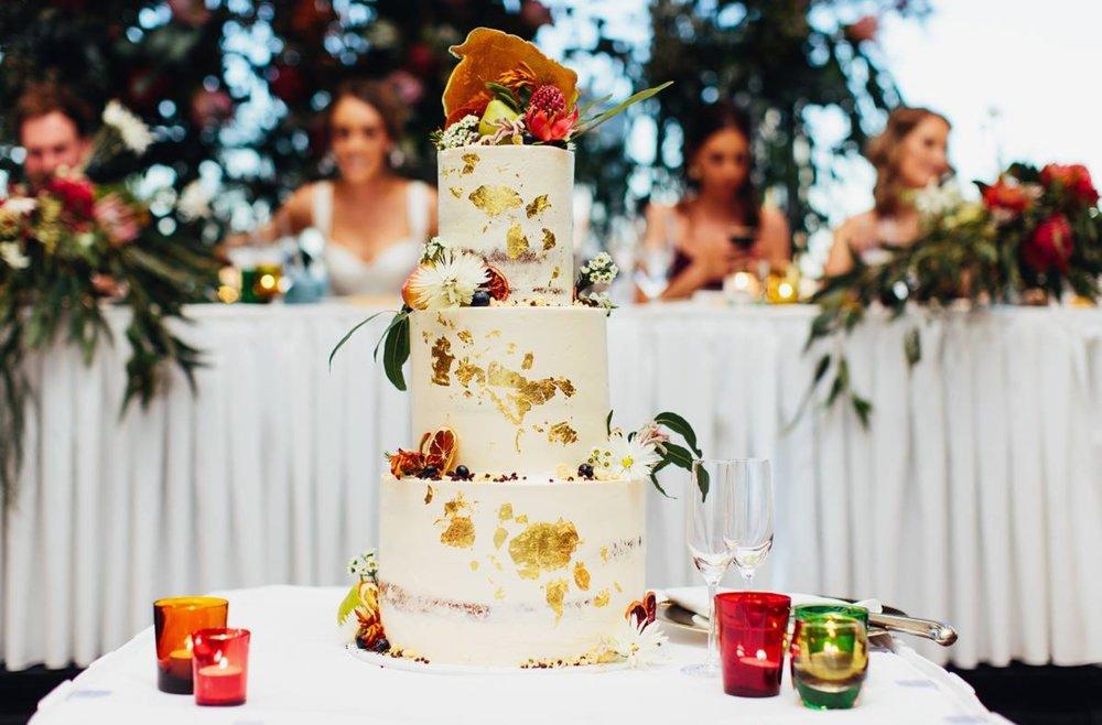 bespoke melbourne wedding cake