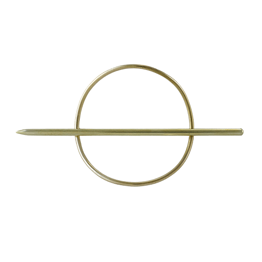 Ellen Mote Jewelry Mini Circle Hair Pin