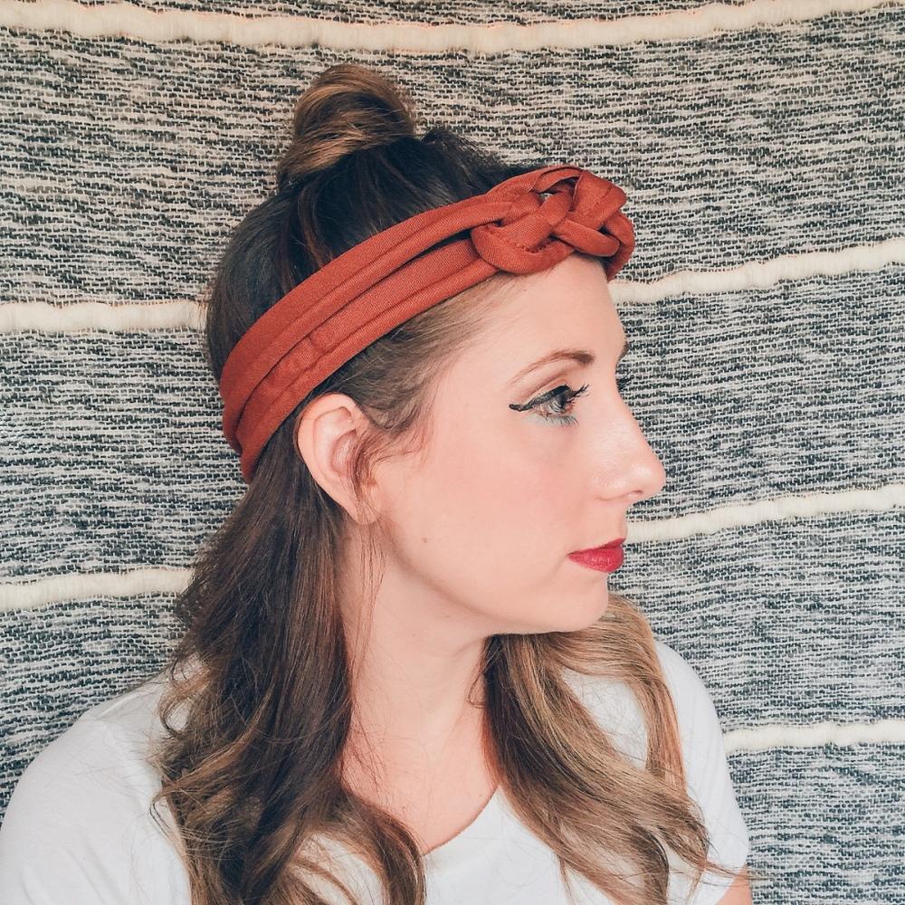 Double Nautical Knot Headband