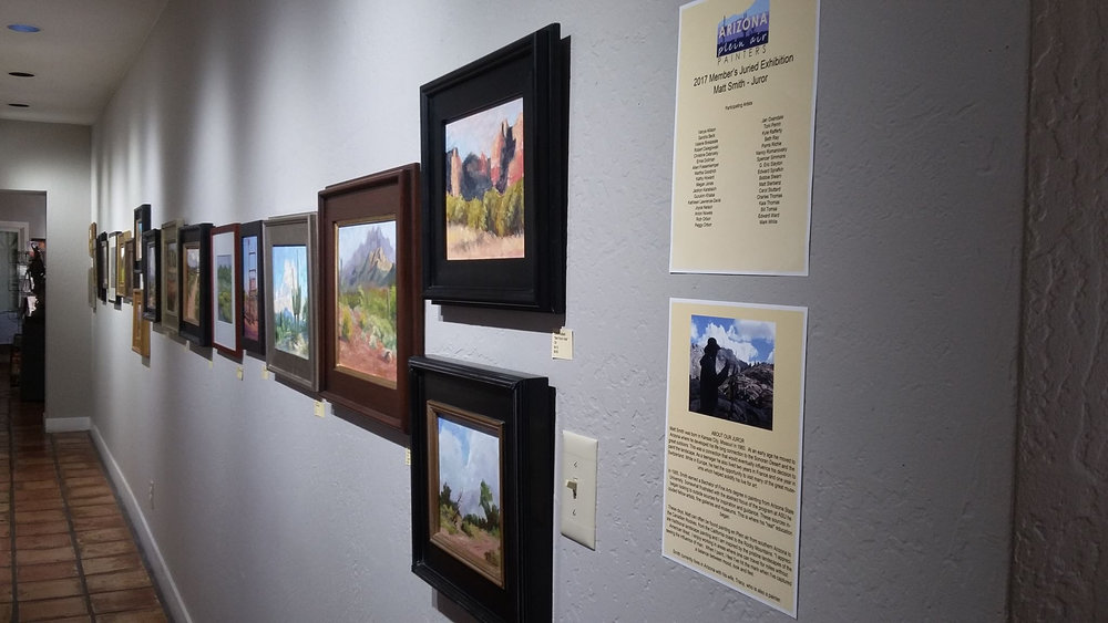 2017 APAP Juried Members Exhibition held at Scottsdale Artists School, Scottsdale, Arizona