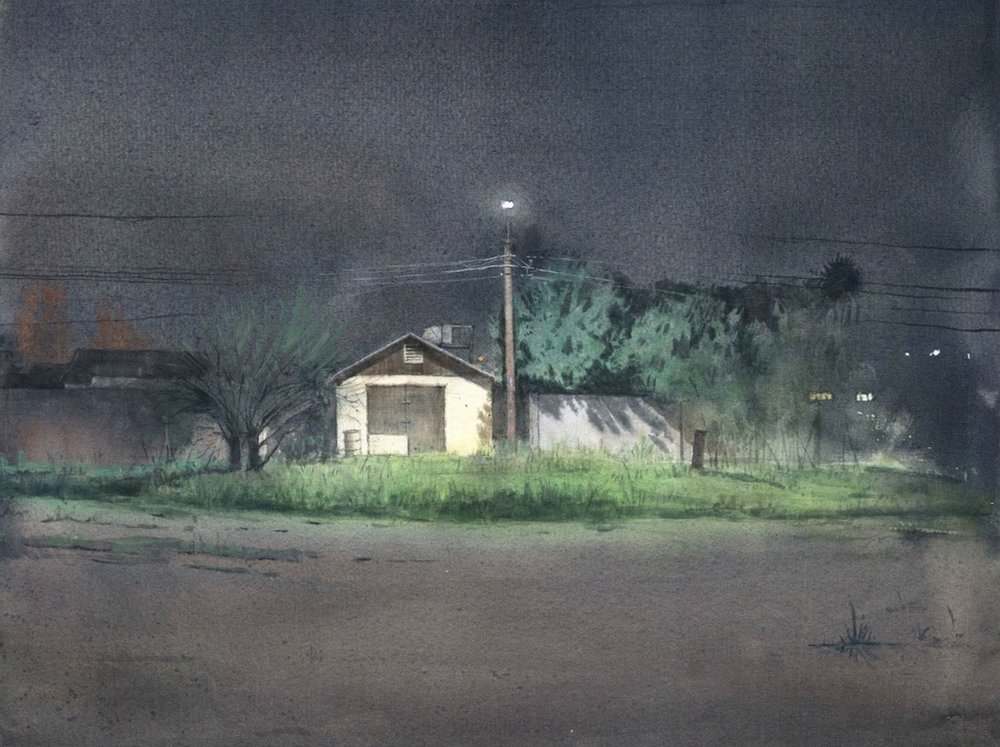 "Honorable Mention :  Spencer Simmons  ""The Empty Lot and the Shack"""