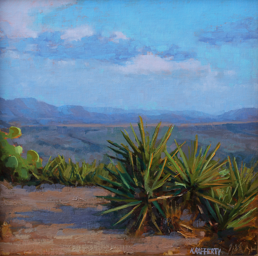 "Honorable Mention :  Kyle Rafferty  ""Agave's View"""