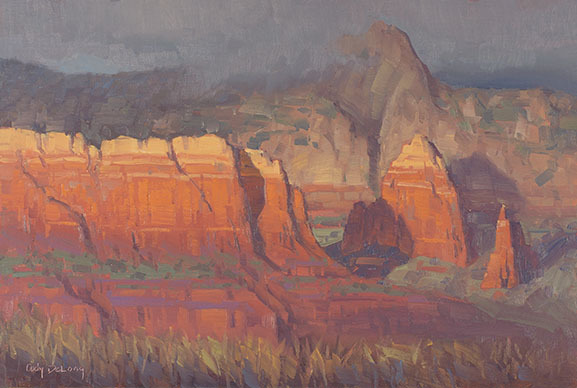 Sedona Storm Approaching - Cody DeLong