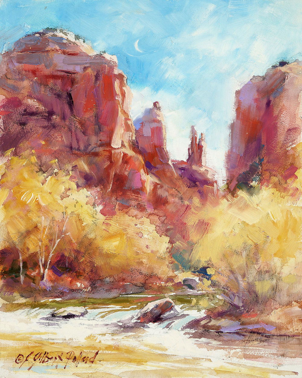 Red Rock Crossing - Julie Gilbert Pollard