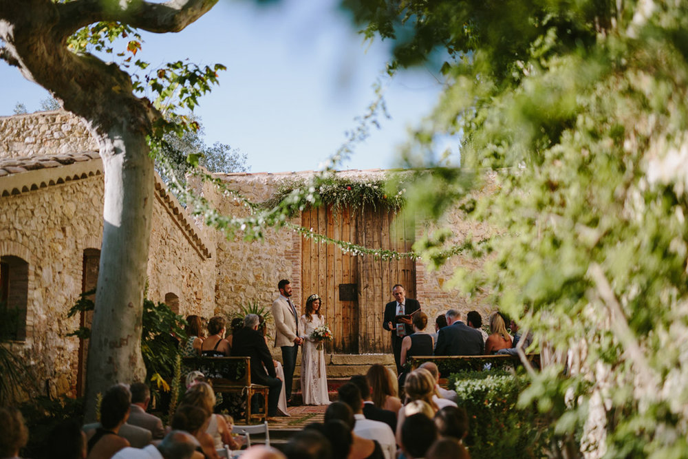 intimate wedding at casa felix