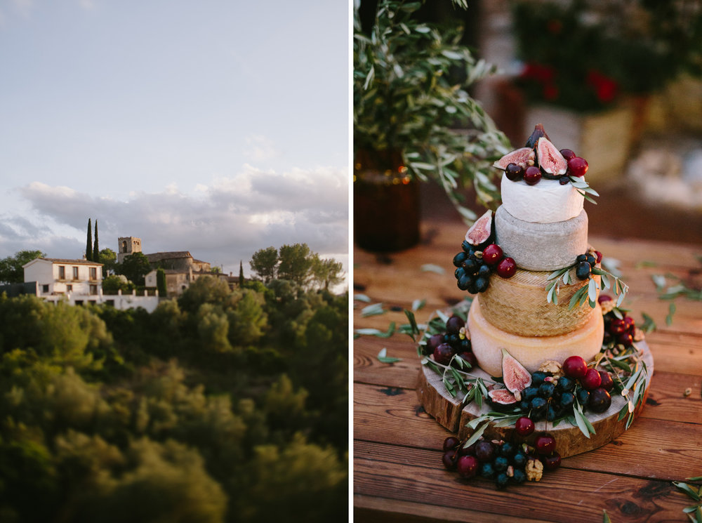 view of olivella and wedding cake