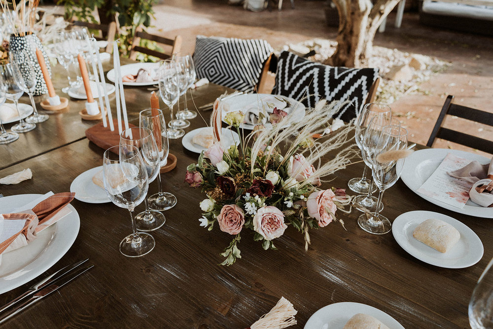 moroccan inspired centerpiece