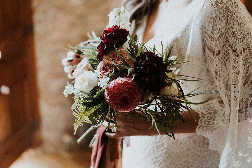 barcelona bridal bouquet