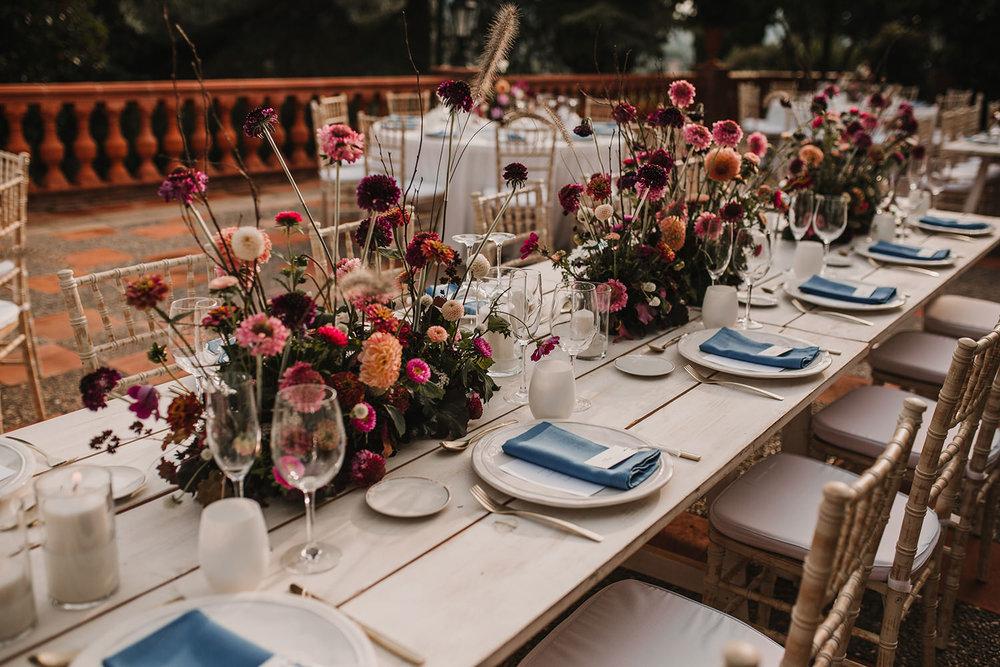 centros de mesa boda mas sant llei