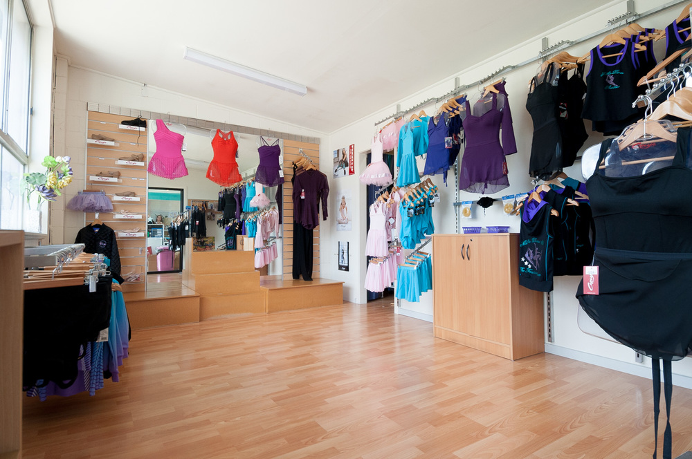 Mathis Dance Studios onsite dance wear shop Melbourne Braeside