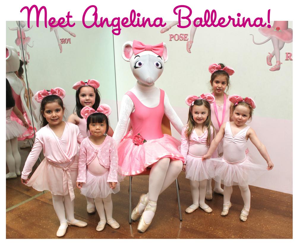 Meet Angelina Ballerina Melbourne Mathis Dance Studios