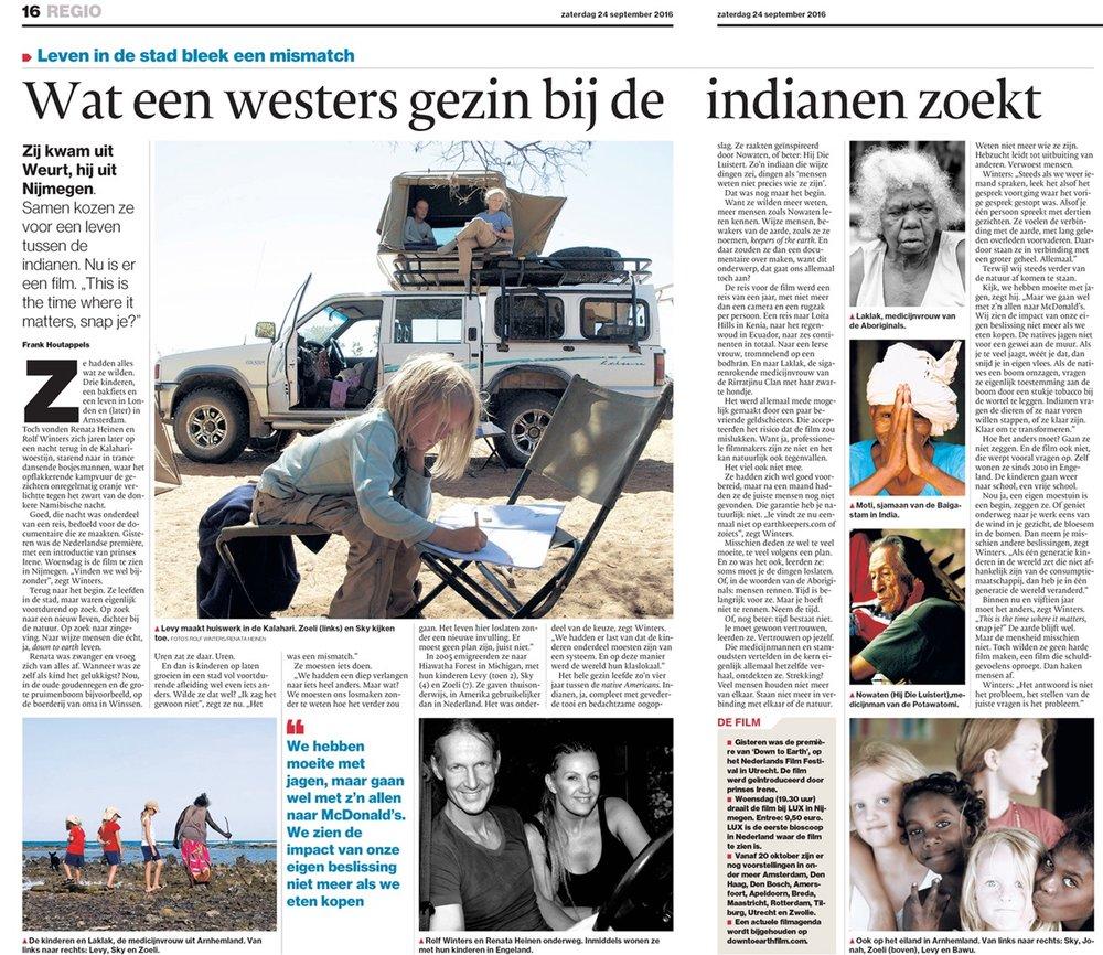 Gelderlander, 24 sept 2016