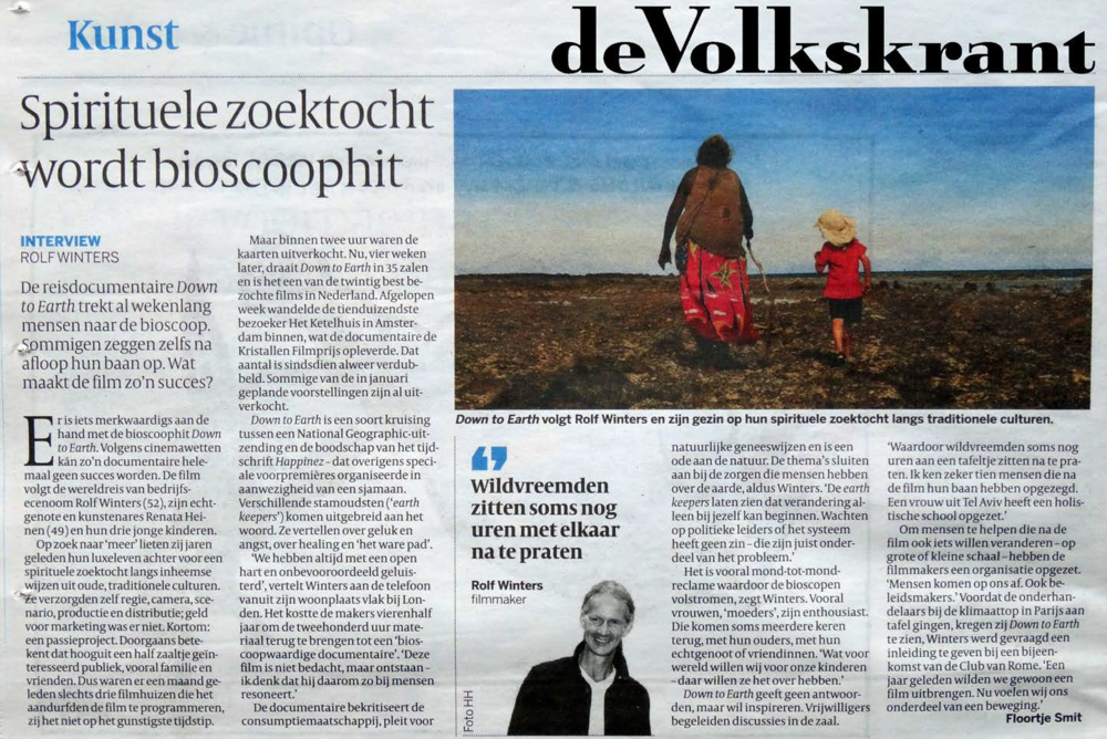 Volkskrant,  26 nov 2016