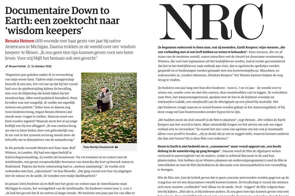 NRC, 31 okt 2016