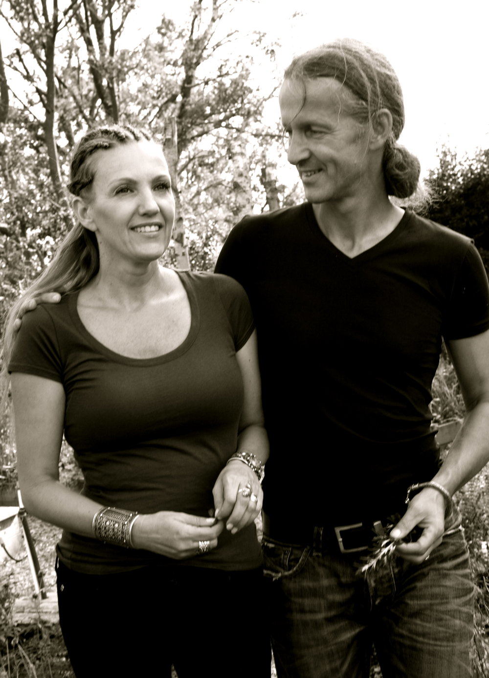 Renata Heinen and Rolf Winters