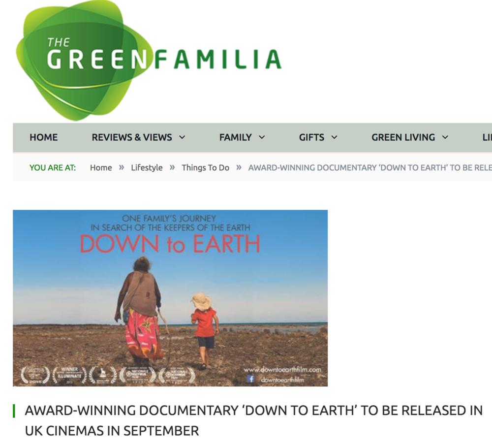 Green Familia, July 2018