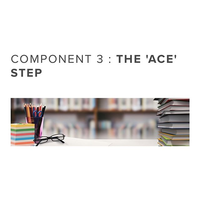 Component 3 : The ACE Step | A - Academic Support. C - Communication & Interpersonal Skills. E - Ethics & Humanities. #academicsupport #communicationskills #ethics #aspire