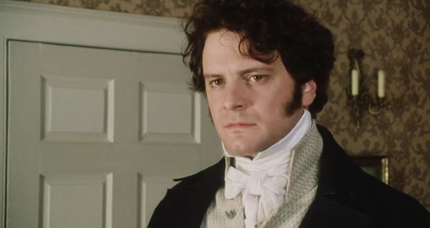 Mr. Darcy stood near them in silent indignation at such a mode of transport. He would much rather have been on his bike.
