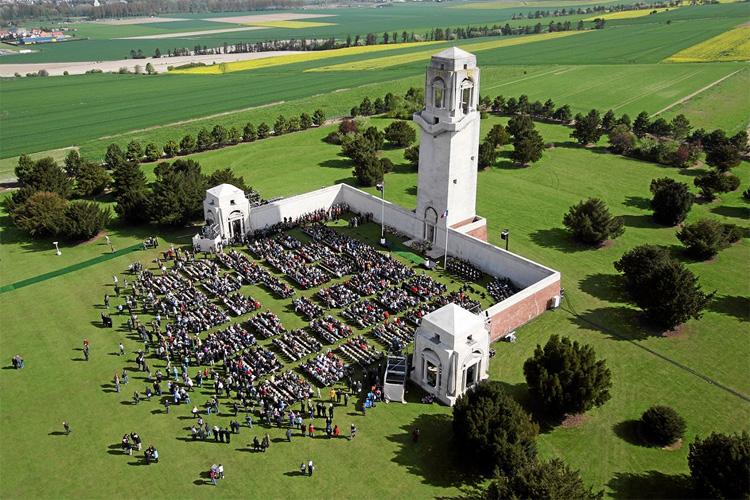 Villers-Brettoneux war memorial