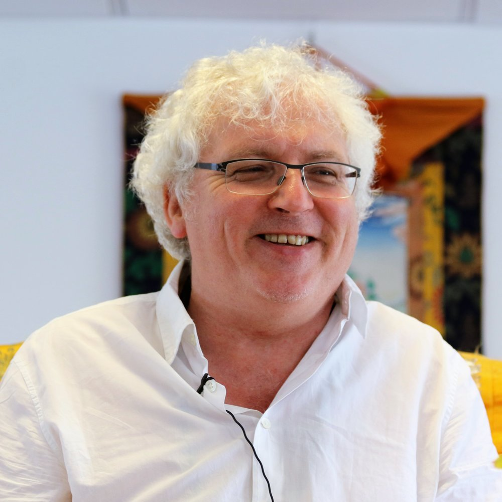 Lama Jampa teaching on buddha nature in Manchester, 1st July