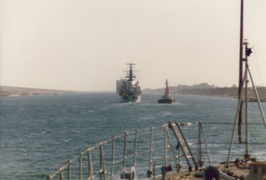 Suez Canal with Newcastle