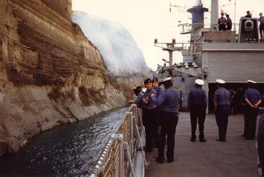 Corinth Canal '86